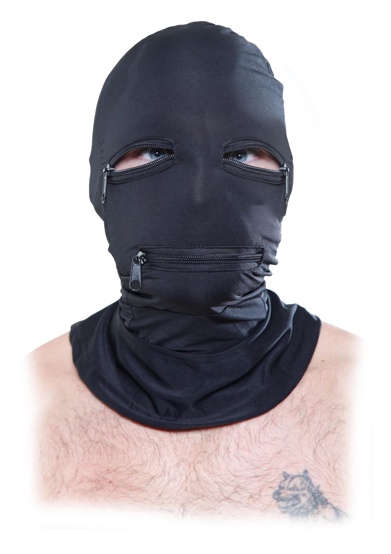 Zipper Face Hood.